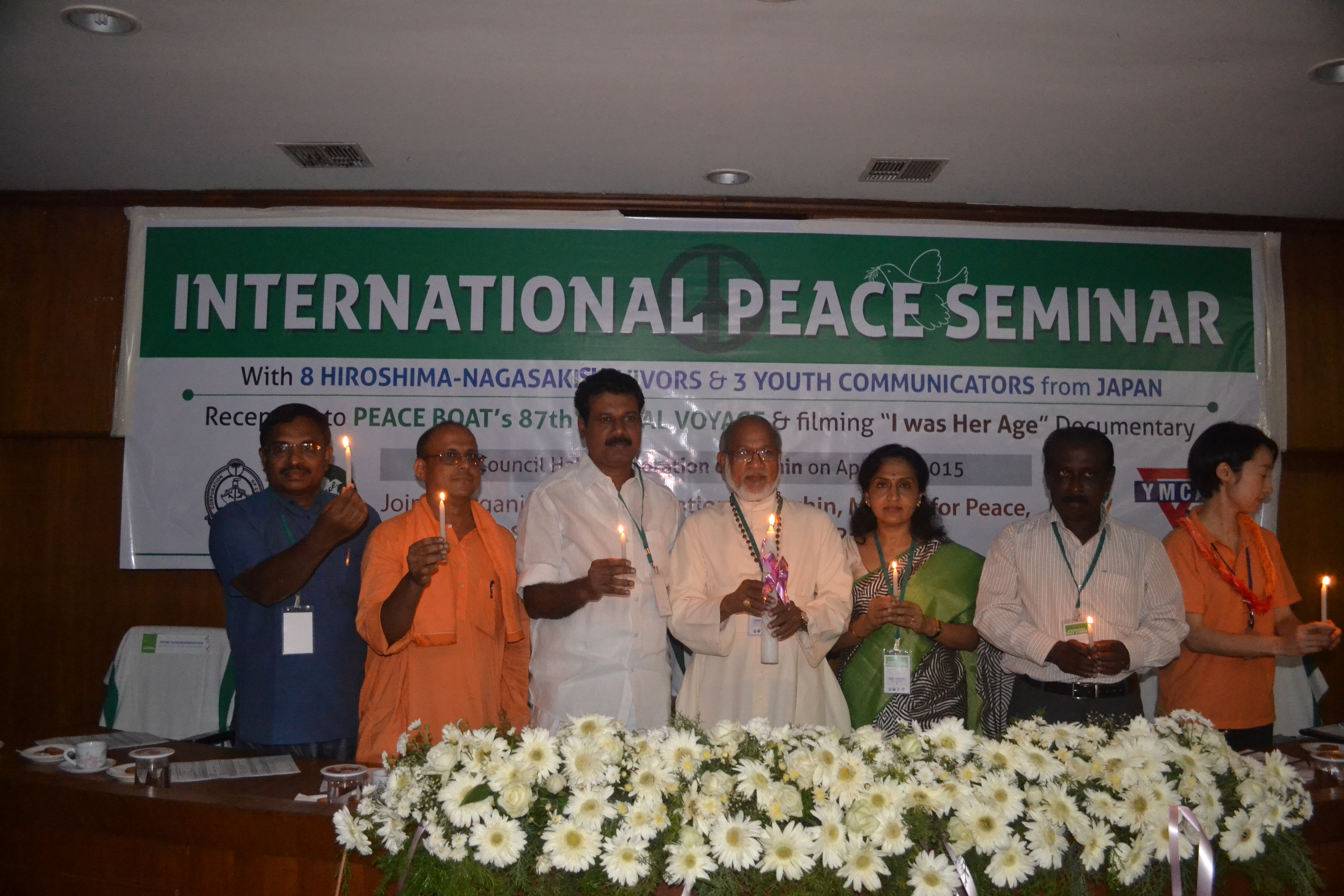 Peace Boat spreads message of nuclear-free world