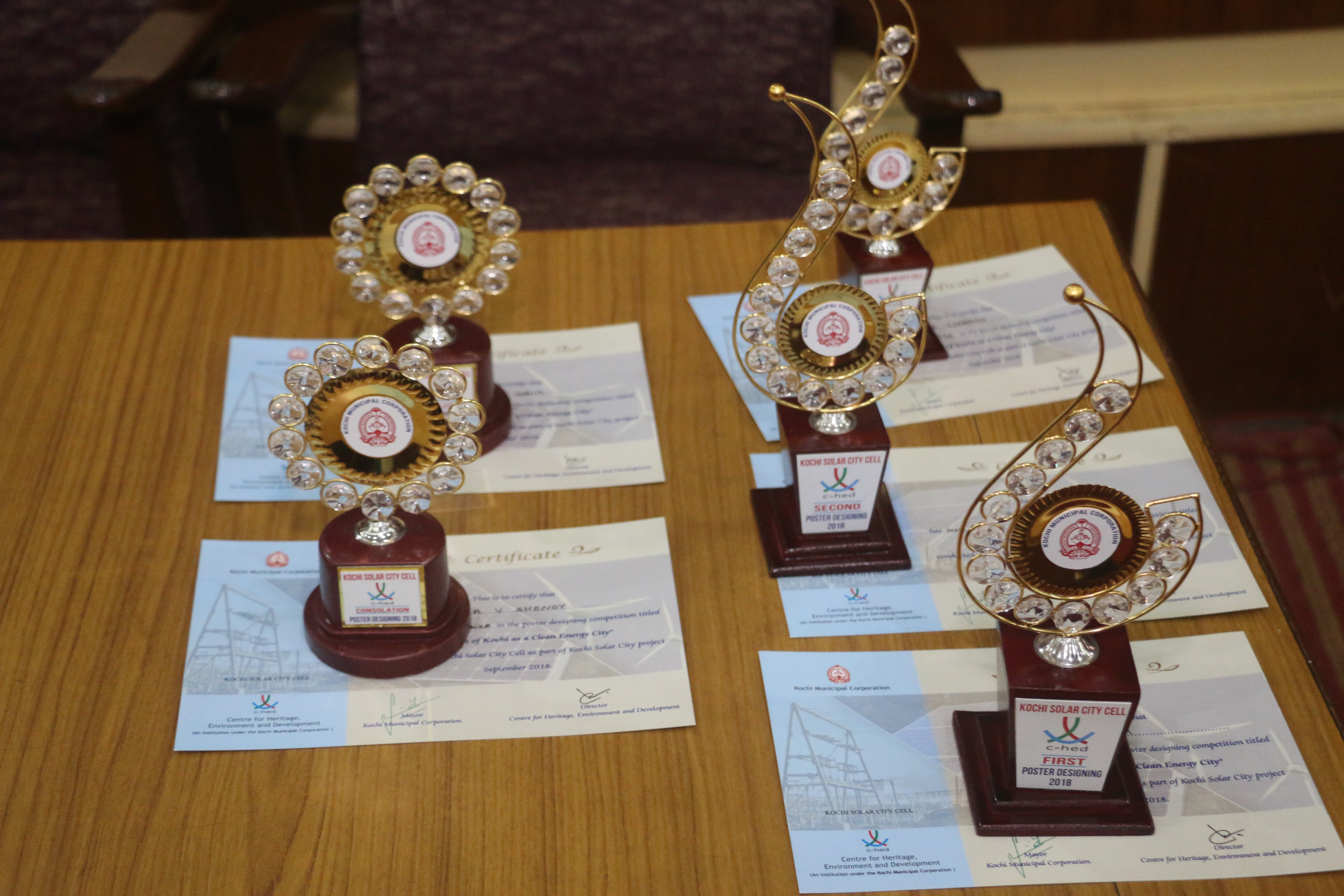 POSTER DESIGNING COMPETITION – PRIZE DISTRIBUTION