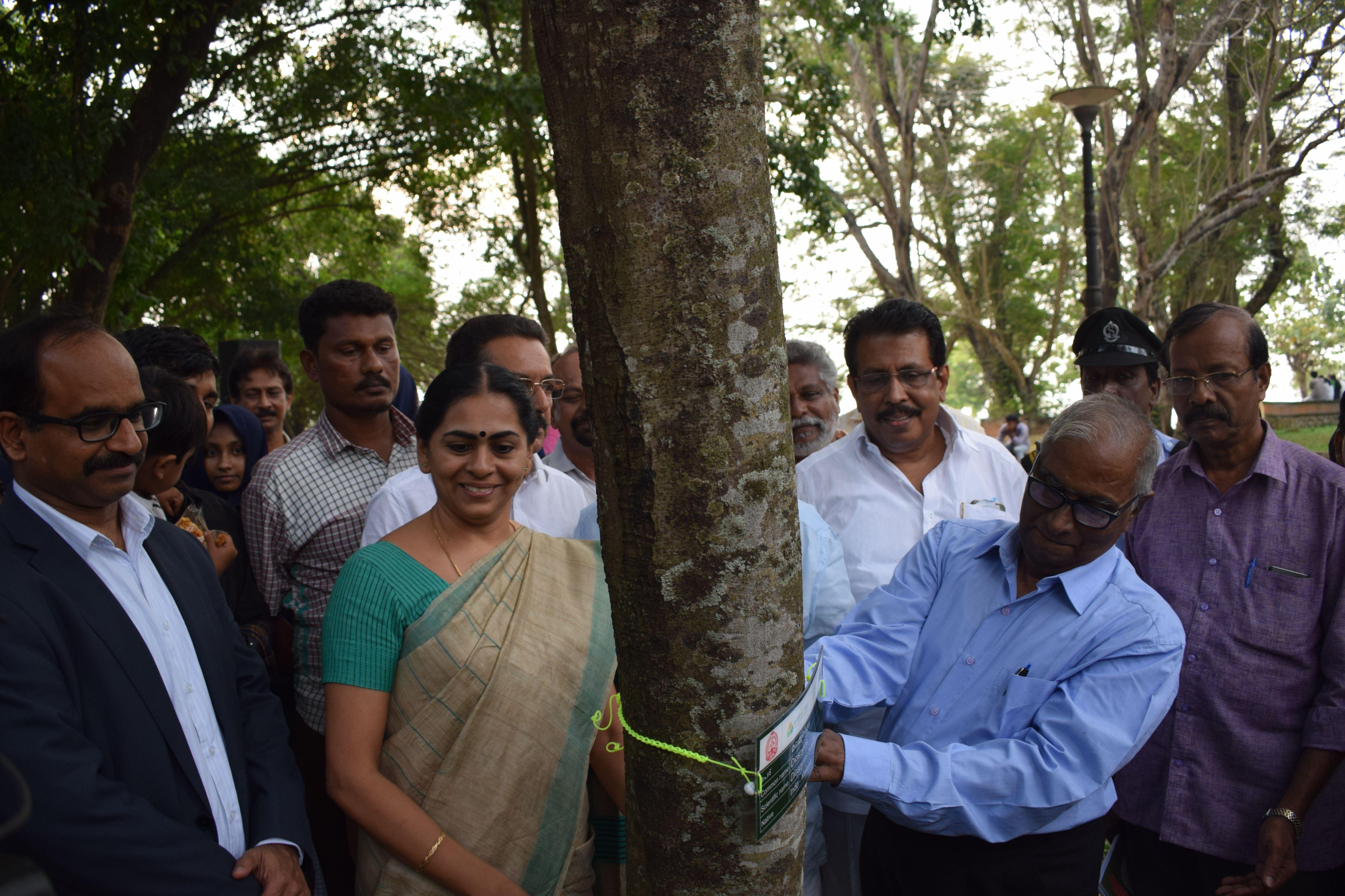 Tree Naming and Handbook Release at Subhash Bose Park